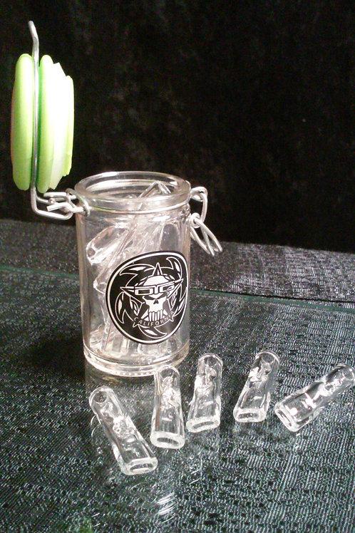 JAR-O-10 GLASS BLUNT TIPS