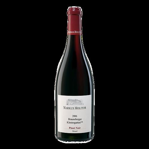 Markus Molitor Brauneberger Klostergarten Pinot Noir ***2017