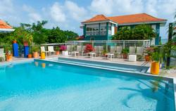 Piscine Hôtel Frégate Bleue Martinique