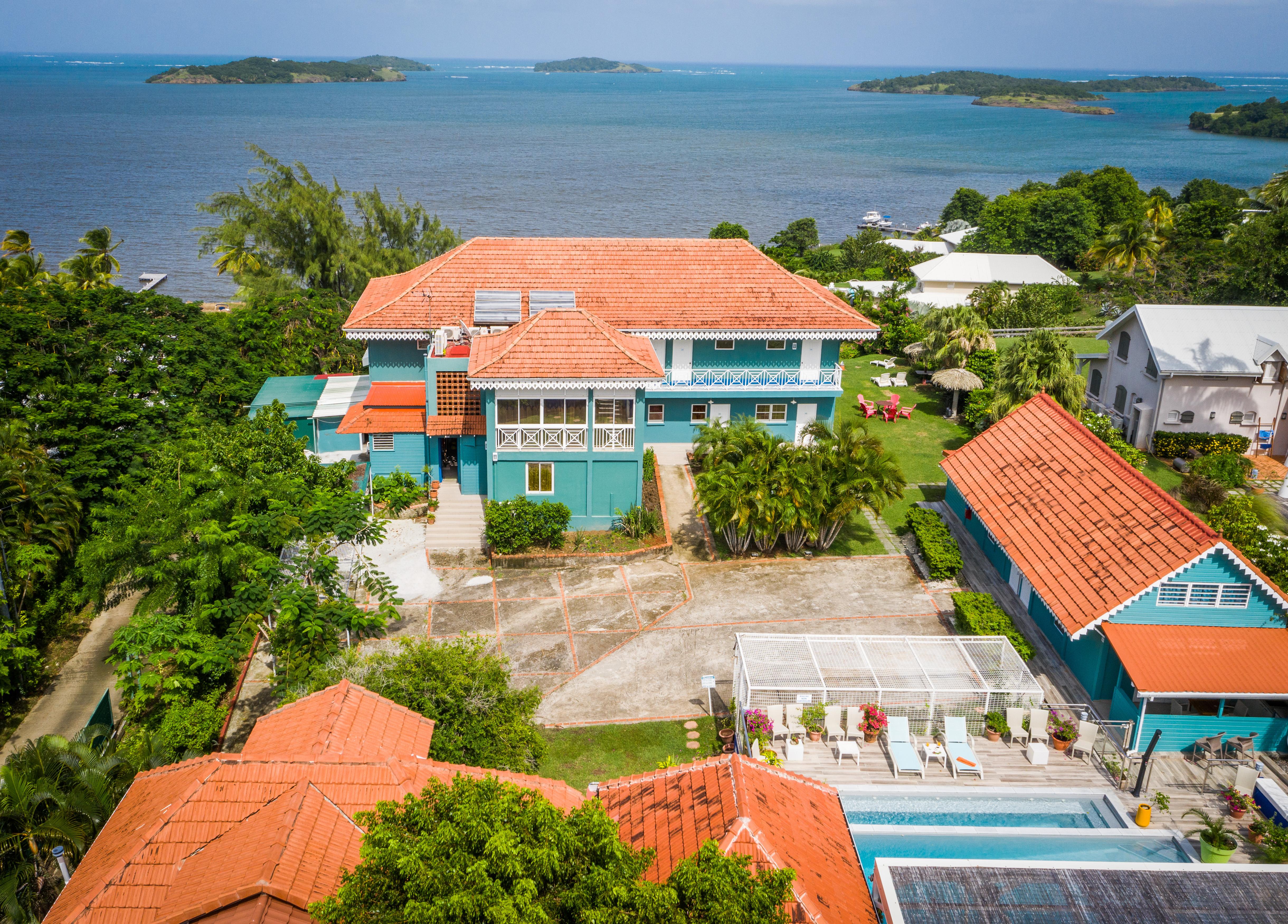 L'Hôtel Frégate Bleue Le François Martinique