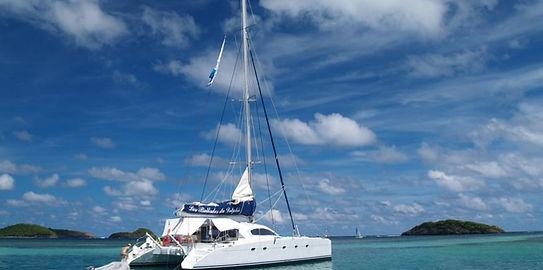 Excursion catamaran avec Les Ballades du Delphis en Martinique