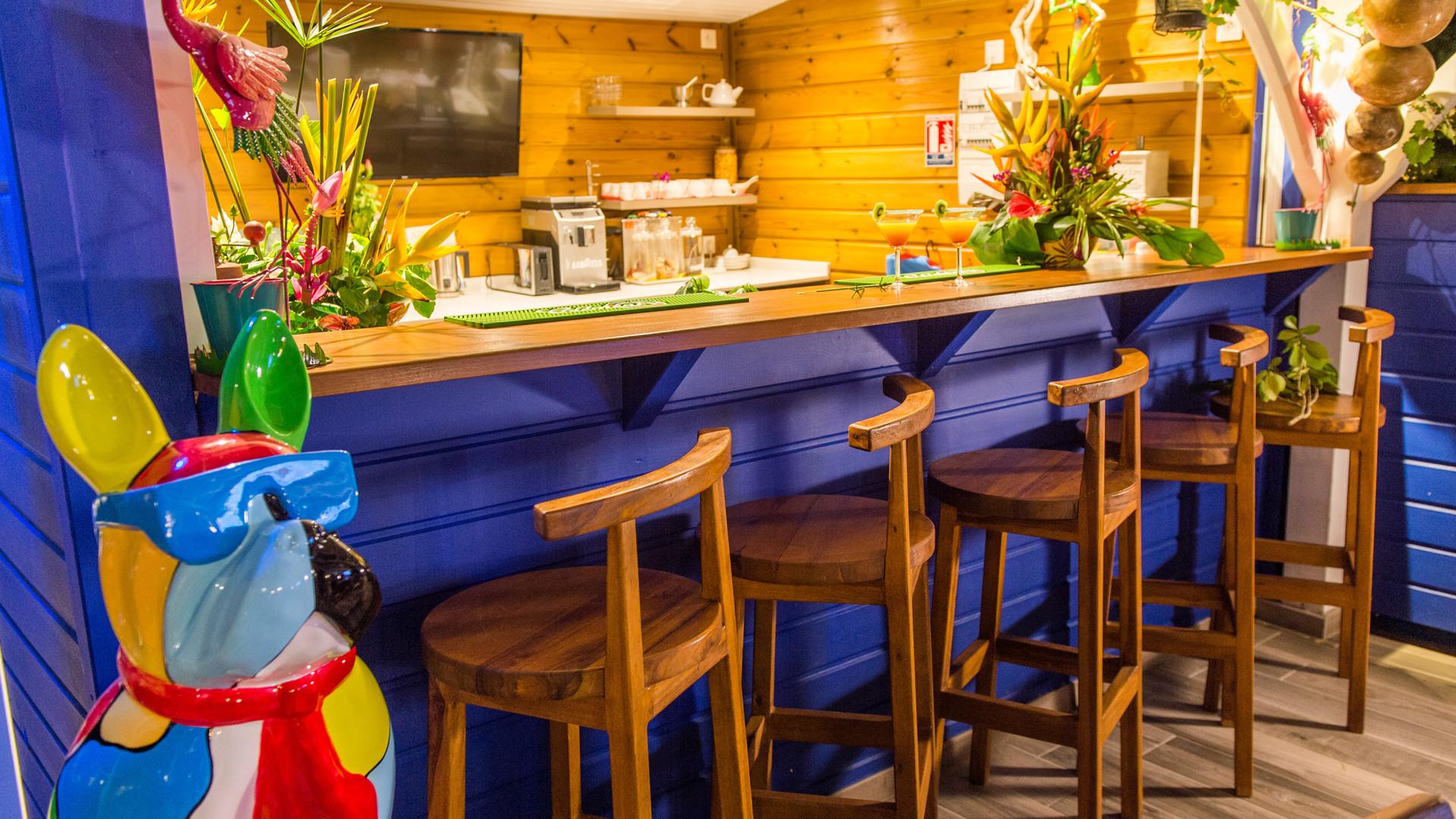 Bar Hôtel Frégate Bleue Martinique
