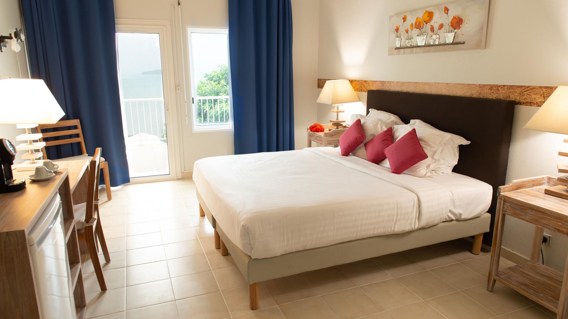 Chambre Cosy Hôtel *** Frégate Bleue Martinique