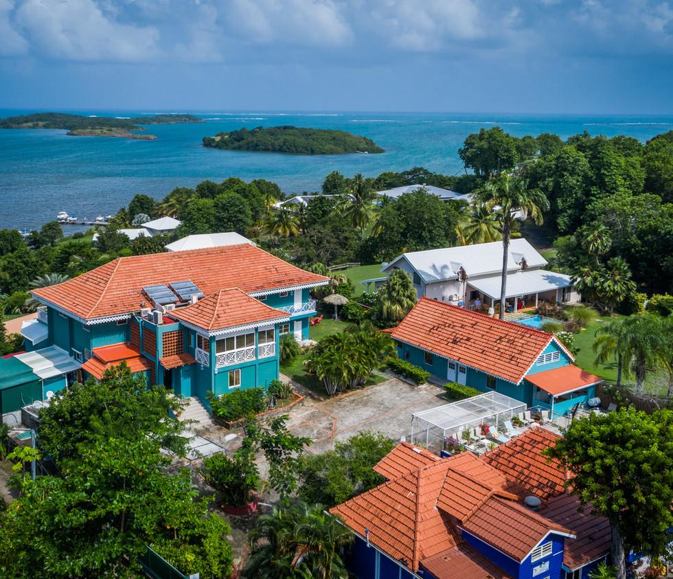 Luftbild Drohne Hotel Fregate Bleuevu