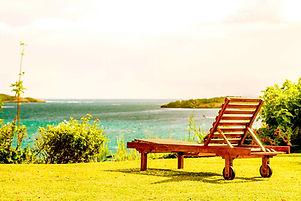 Profitez de la vue mer sur les ilets du François à l'Hôtel Frégate Bleue Martinique