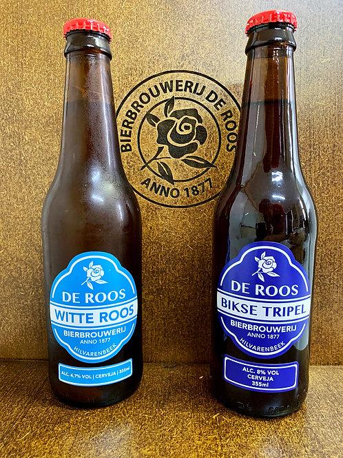 Box 3 Witte Roos 355ml + 3 Bikse Tripel 355ml