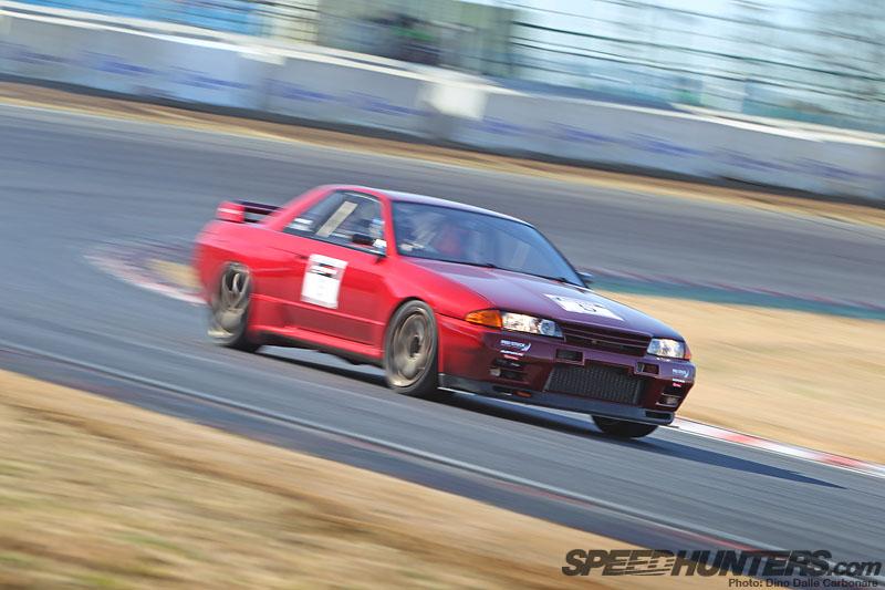 Pro Stock Nissan Skyline R32 Track