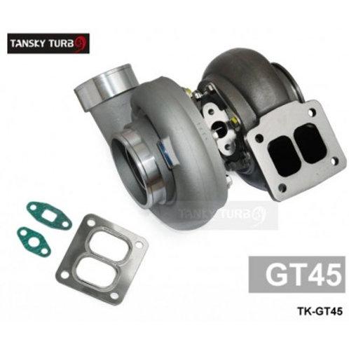 High Performance turbocharger GT45 turbocharger turbine: A/R .66 compressor: A/R