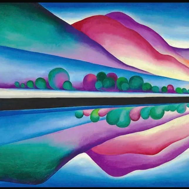 ONLINE Reflection Seascape O Keeffe style