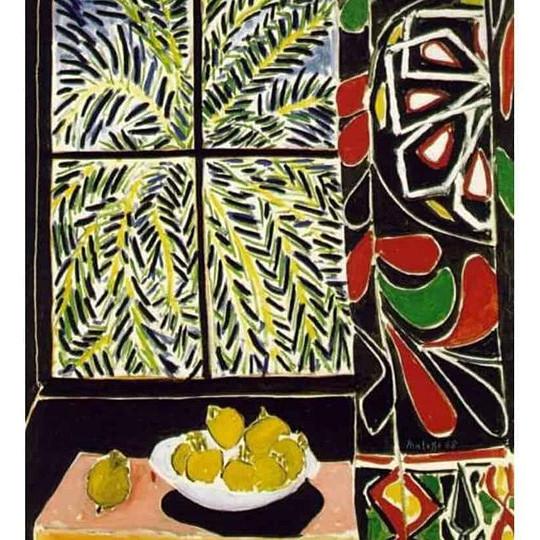 Matisse's Egyptian Curtain