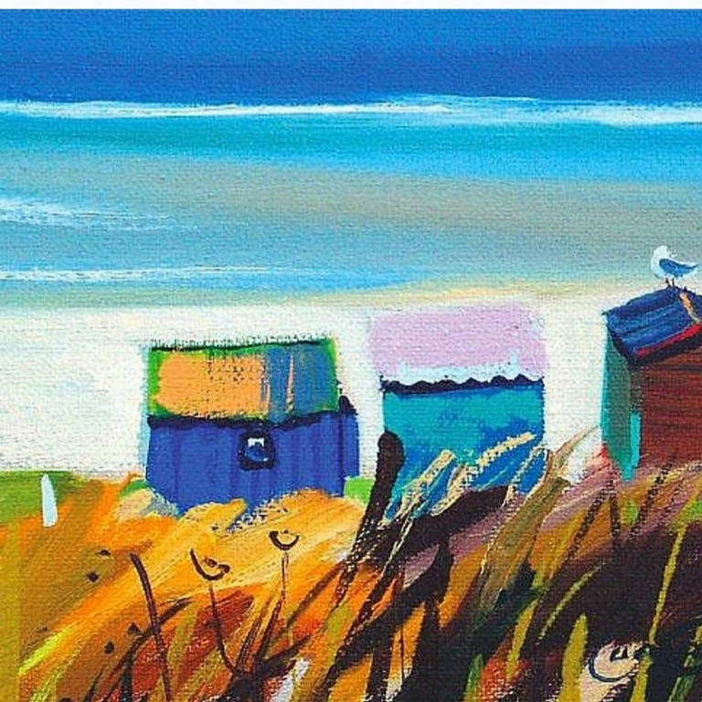 LIVE EVENT (Whitstable) - Beach huts (Pam Carter)