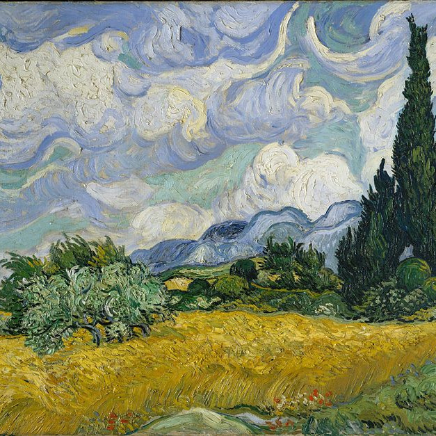 Pay What you Can - Wheat fields Van Gogh style!