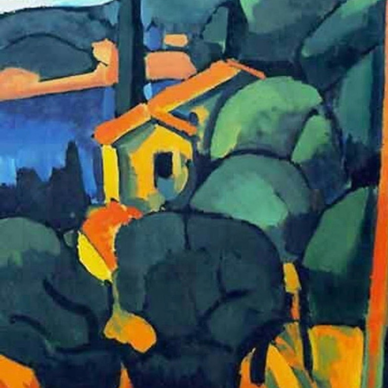 Pay What You Can! Landscape South of France (Derain Style)