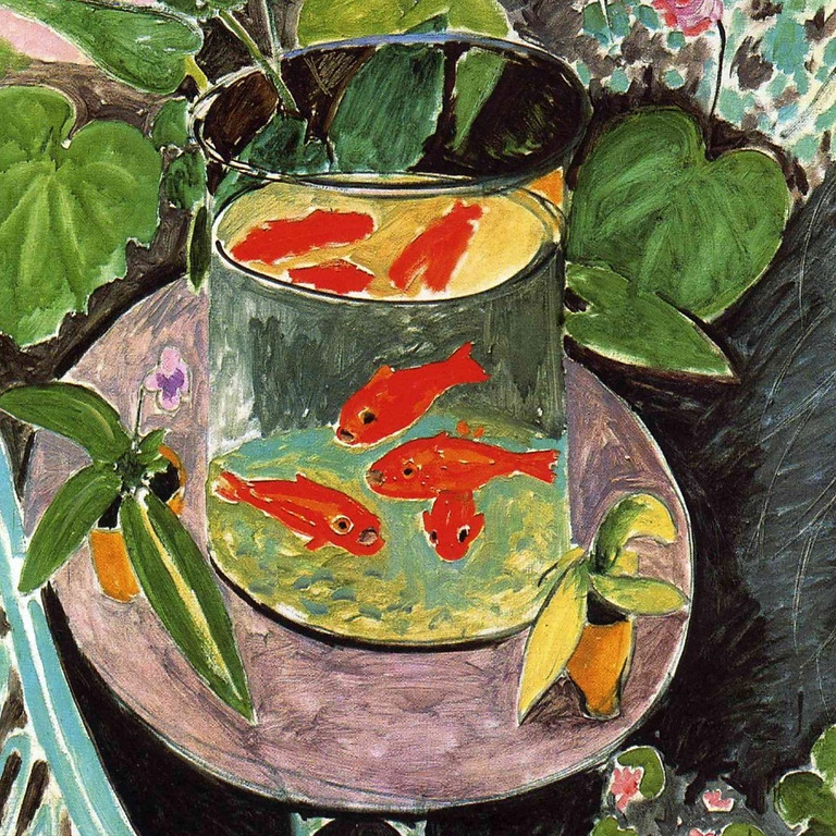LIVE EVENT (Whitstable) - Matisse & goldfish