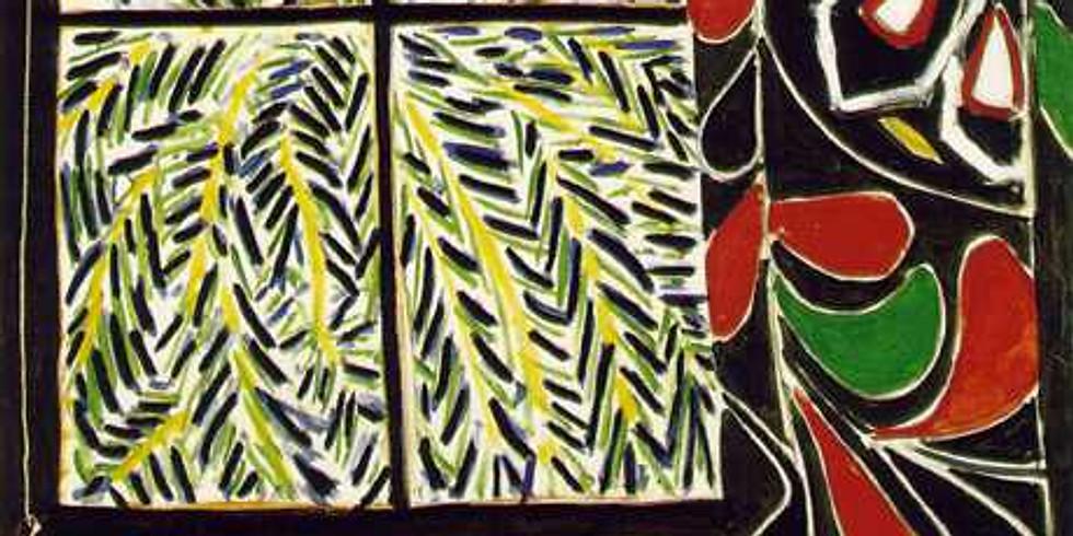 Matisse's Egyptian Curtain (still life)
