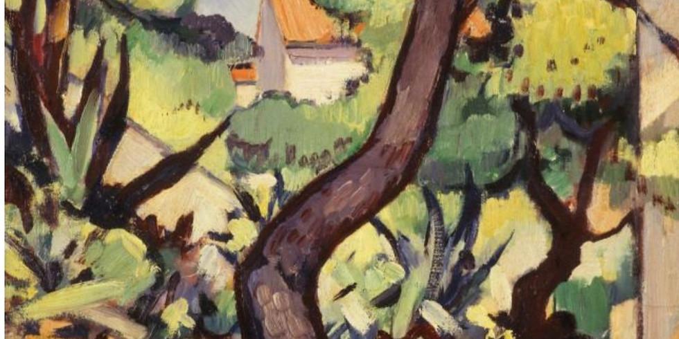 PRIVATE EVENT - Odd Fellows  - Samuel Peploe Landscape at Cassis