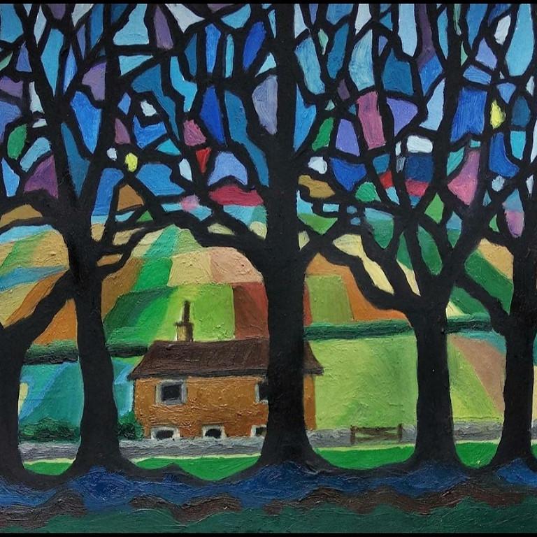 Hockney's trees