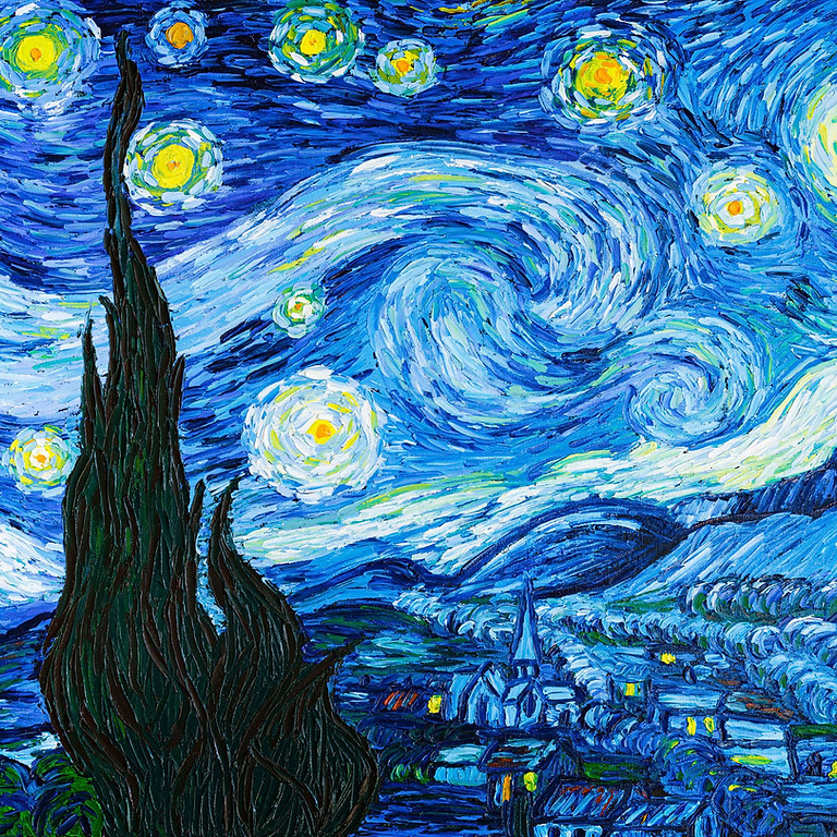 LIVE EVENT (Whitstable) - Starry Night (Van Gogh Style)