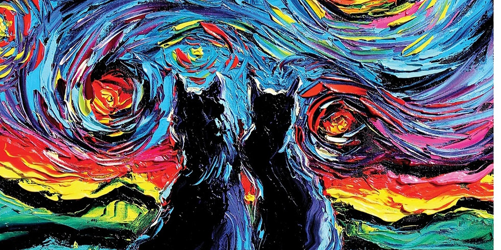 LIVE EVENT- Cats & Starry Night