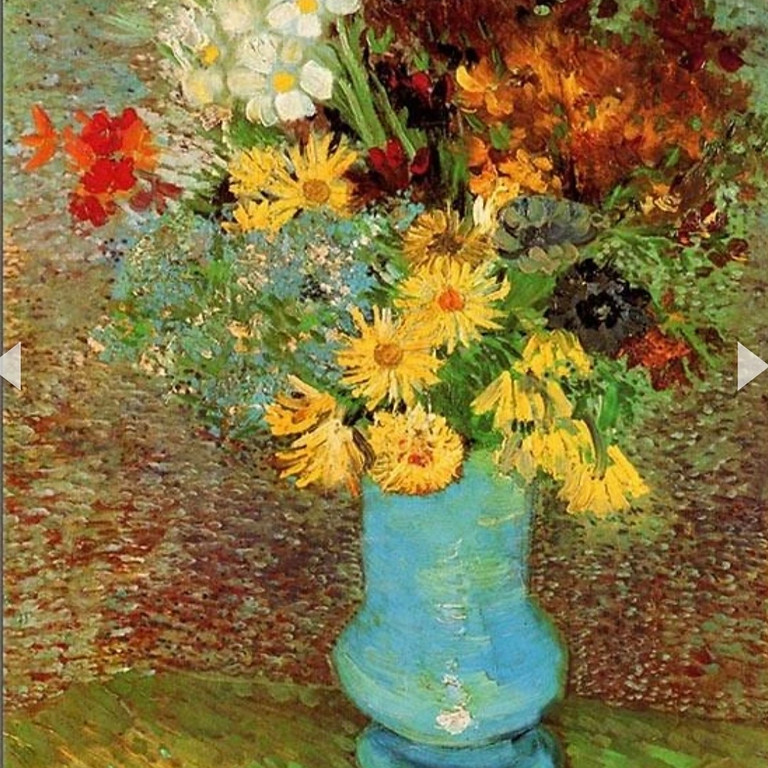 LIVE EVENT (Whitstable) - Van Gogh's Daisies & Anenomes