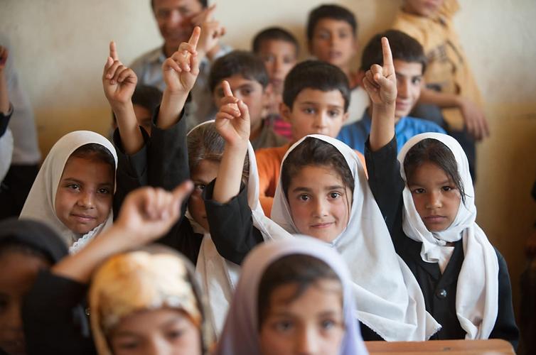 Pakistani Children in school