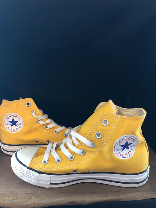 Yellow All-Star Converse
