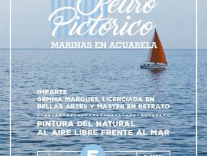 Retiro pictórico Marinas en Acuarela