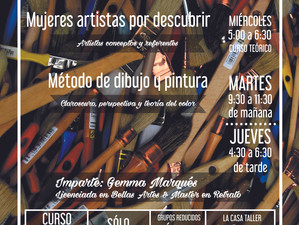 Cursos de Arte Octubre 2016.
