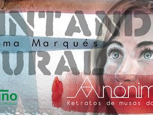 """Mural """"Anónimas"""" de Gemma Marqués"""