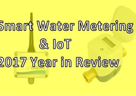 Smart Water Metering 2017 in Review