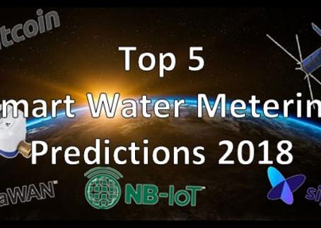 Top 5 Smart Water Metering Predictions for 2018