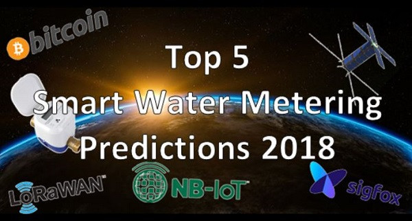 Top 5 Smart Water Metering Predictions for 2018