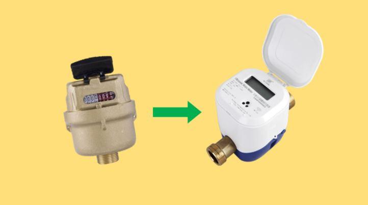 Mechanical to Digital Water Meter