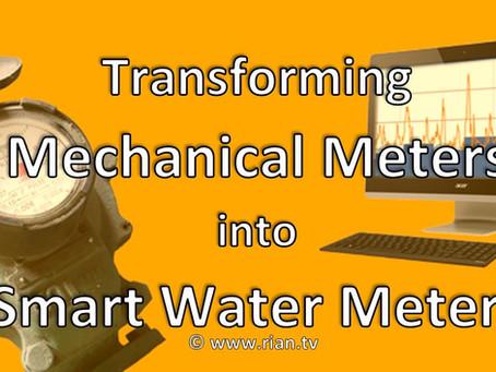 Transforming Mechanical Meters into Smart Water Meters