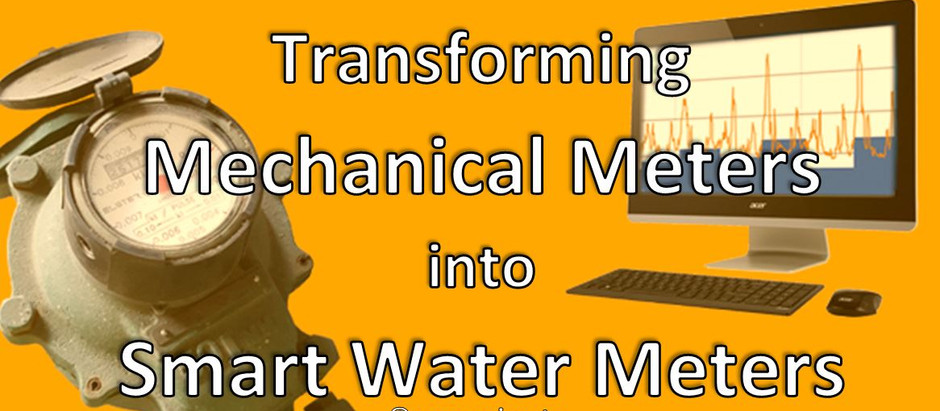 Transforming Mechanical Meters into Smart Water Meters