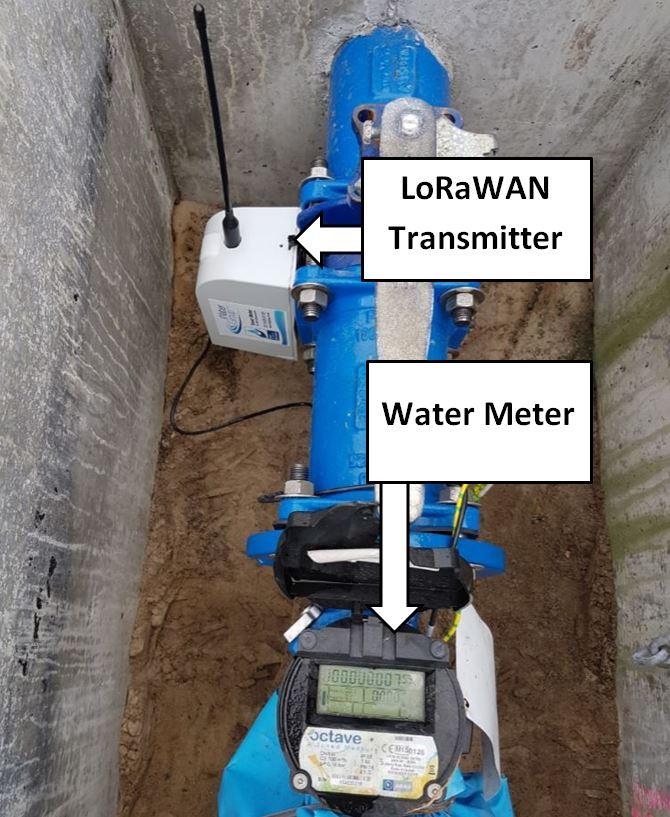 LoRaWAN Smart Water Meter