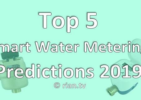 Top 5 Smart Water Metering Predictions 2019