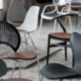 Losse kussens voor diverse design stoele