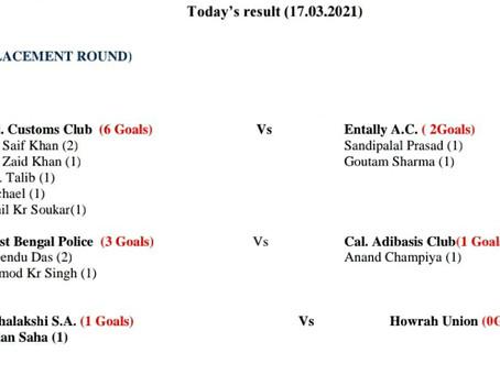 Match Result (17/03/2021)