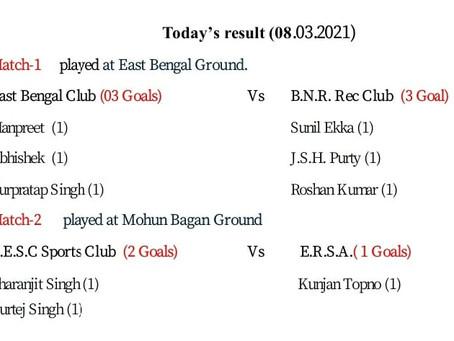 Match Result (08/03/2021)