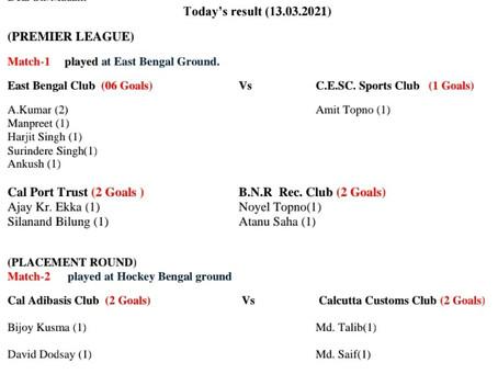 Match Result (13/03/2021)