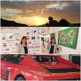 Dany.M.Reginato, Monaco, Les Bla Bal...,Artiste peintre, exposition, lutte contre le cancer