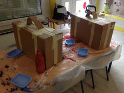fabrication de valises en carton