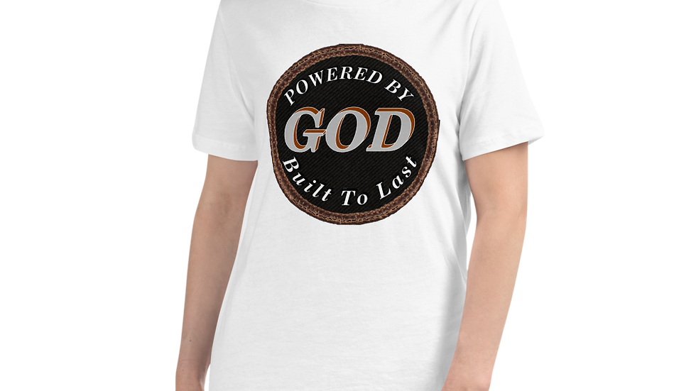 Women's Relaxed T-Shirt-Powered by God