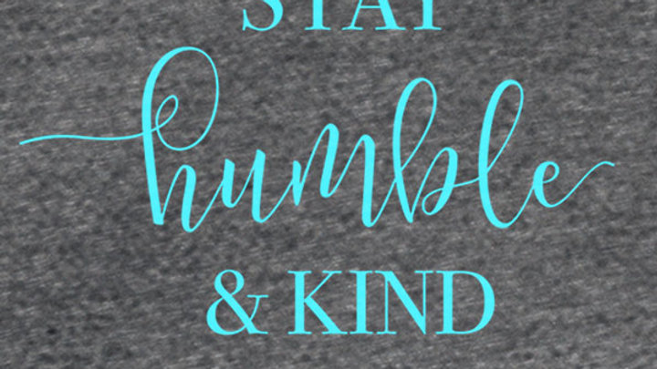 grace & truth Stay Humble & Kind V-Neck T-Shirt