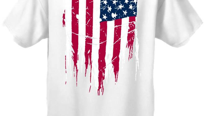 Unisex Fight for Your Freedom USA Flag  Short Sleeve T-Shirt