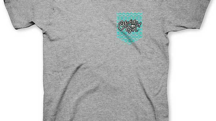 Cherished Girl Adult T - Thankful Grateful Blessed
