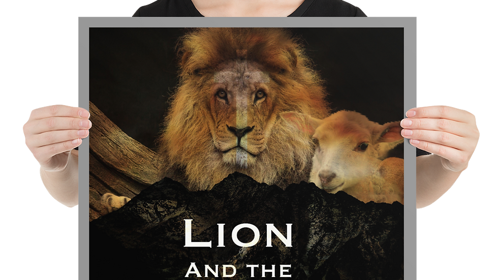 Lion and Lamb - Poster