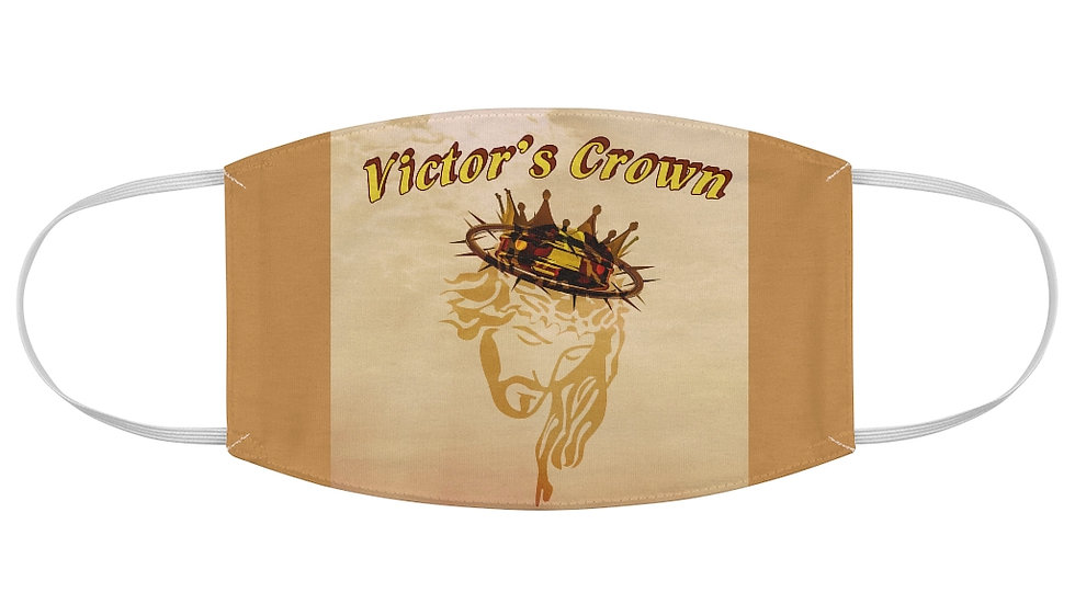 Fabric Face Mask-Victors Crown