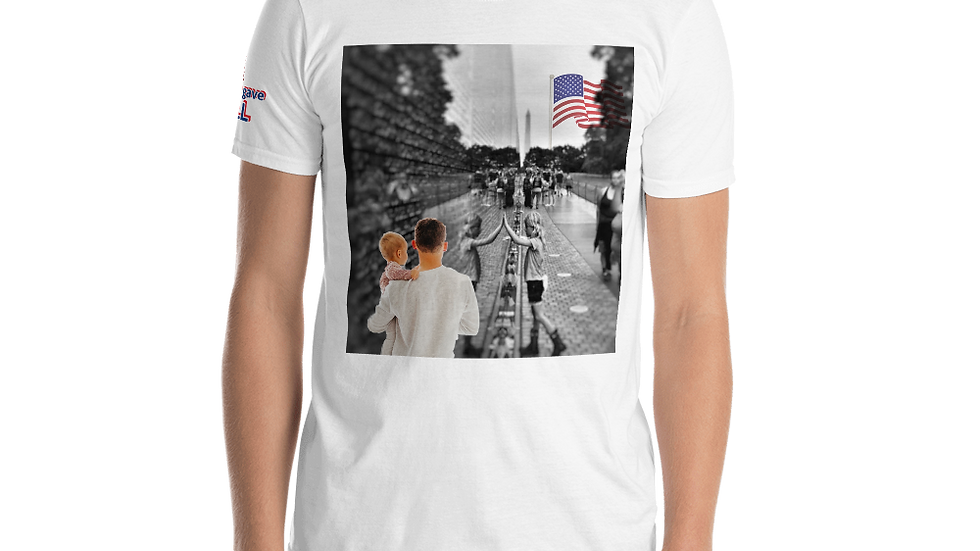 Short-Sleeve Unisex T-Shirt-Some Gave All